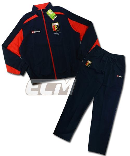 【予約ECM32】【国内未発売】【SALE】ジェノア ウーブントラックスーツ【Lotto/12-13/セリエA/サッカー/Genoa】0825