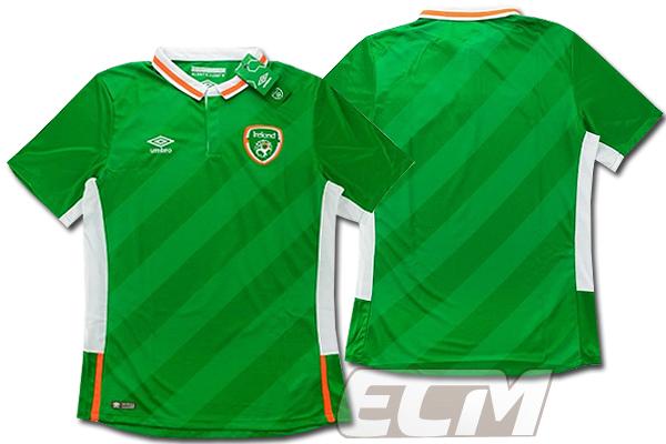 【予約ECM32】【国内未発売】アイルランド代表 ホーム 半袖 プレイヤーモデル【16-17/サッカー/ユニフォーム/Worldcup/Irland】825