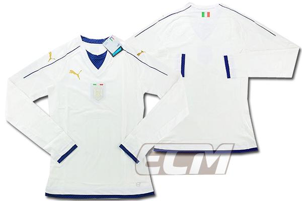【予約ECM32】【国内未発売】【SALE】イタリア代表 2006トアウェイ リビュートユニフォーム 長袖 ホワイト ACTV【16-17/サッカー/ユニフォーム/アズーリ】