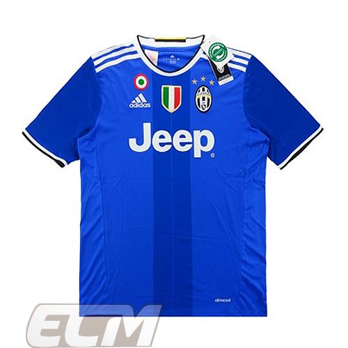 【予約ECM32】【国内未発売】【SALE】ユベントス アウェイ 半袖【16-17/イタリア・セリエA/Juventus/サッカー/ゼブラ】