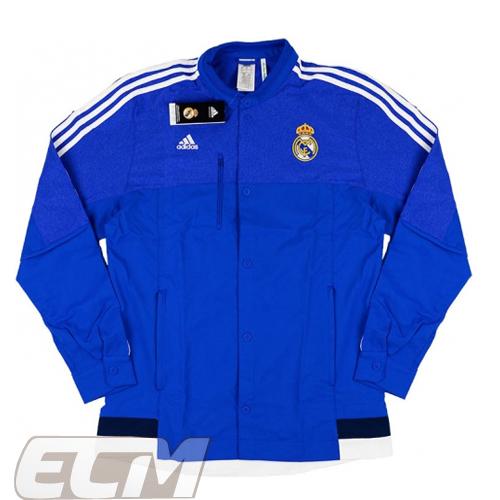 【予約RMD08】【国内未発売】レアルマドリード アンセムジャケット ブルー【15-16/サッカー/Real Madrid/スペインリーグ】お取り寄せ ECM32