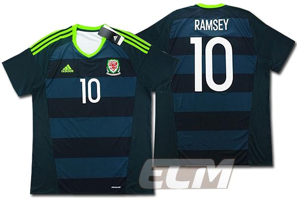 【予約ECM32】【国内未発売】【SALE】ウェールズ代表 アウェイ 半袖 10番 ラムジー【16-17/ワールドカップ/サッカー/WALES/RAMSEY】