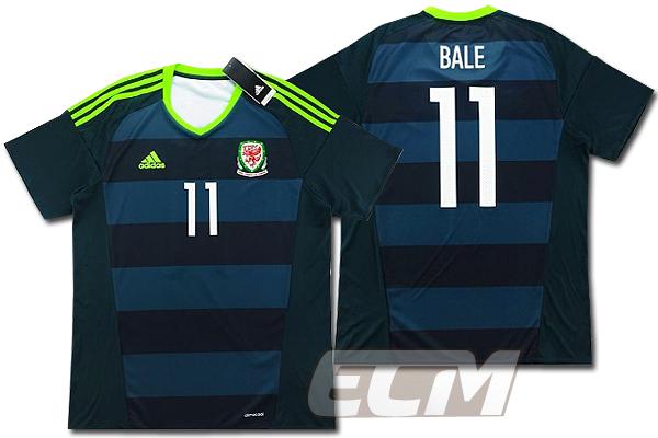 【予約ECM32】【国内未発売】【SALE】ウェールズ代表 アウェイ 半袖 11番 ベイル【16-17/ワールドカップ/サッカー/WALES/BALE】