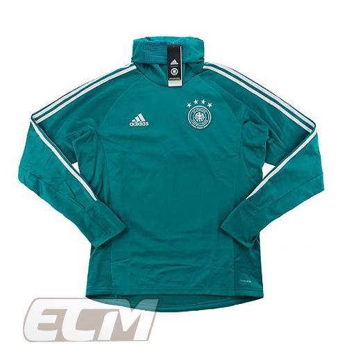 【予約DFB03】【国内未発売】ドイツ代表 ウォームアップトップ グリーン【18-19/サッカー/Germany/トレーニングウェア】ECM32