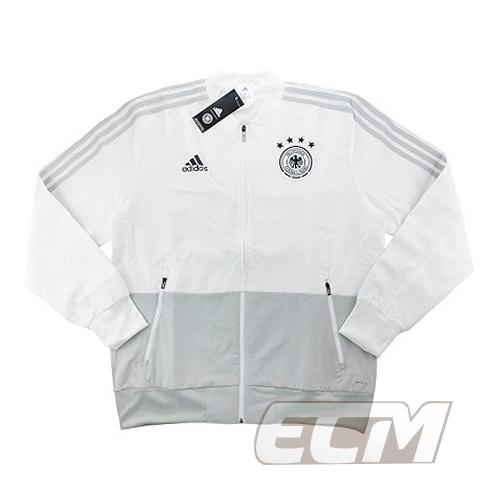 【予約DFB03】【国内未発売】ドイツ代表 プレゼンテーションジャケット ホワイト【18-19/サッカー/Germany/トレーニングウェア】ECM32