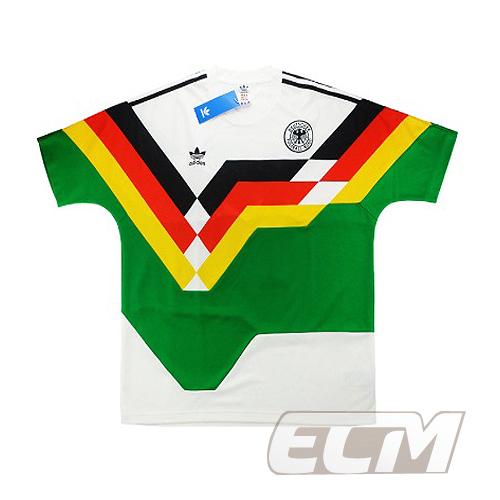 【予約DFB03】【国内未発売】ドイツ代表 AO 1990マッシュアップシャツ【18-19/サッカー/Germany/トレーニングウェア】ECM32