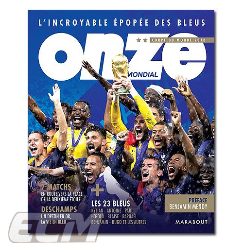 【予約FRA03】【国内未発売】Onze別冊 フランス代表 ロシアW杯優勝記念号【サッカー/Worldcup/フランス代表/グリーズマン/ムバッペ】
