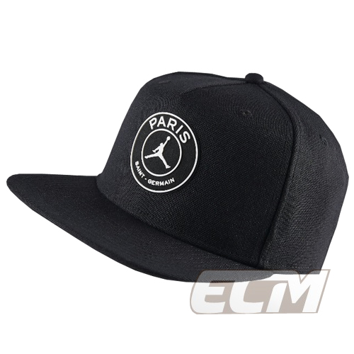 【海外買付】ブラックParis Saint-Germain x JORDAN PRO CAP【サッカー/PSG/パリサンジェルマン/ジョーダン】JOR18