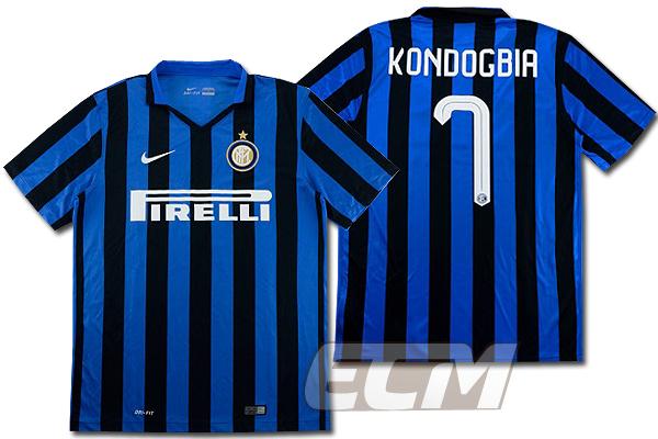 【予約ECM32】インテル ホーム 半袖 7番コンドグビア 【15-16/セリエA/Inter Milan/サッカー/ユニフォーム】