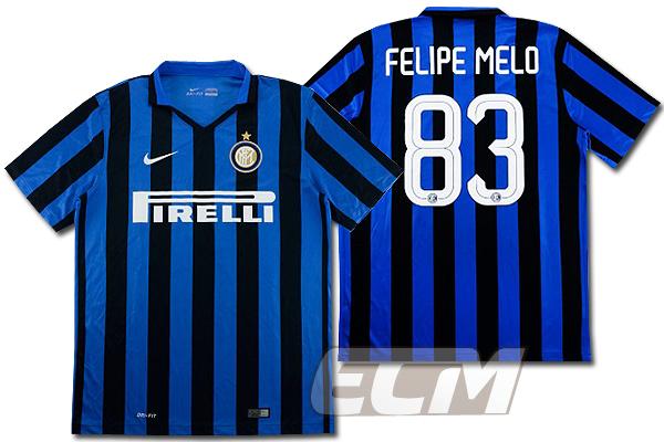 【予約ECM32】インテル ホーム 半袖 83番フェリペ・メロ 【15-16/セリエA/Inter Milan/サッカー/ユニフォーム】