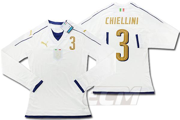 【予約ECM32】【国内未発売】【SALE】イタリア代表 2006 アウェイ トリビュート ACTVモデル 長袖 3番キエッリーニ【16-17/サッカー/ユニフォーム/アズーリ】
