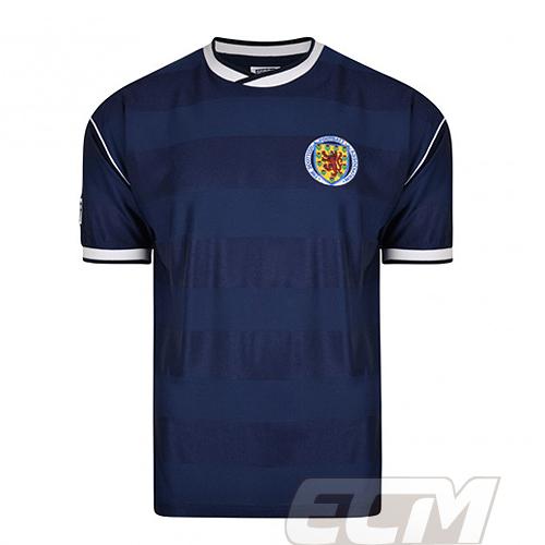 【予約SCD01】【国内未発売】 ScoreDraw スコットランド代表 1986 ホーム  復刻モデル 【スコアドロウ/Scotland/サッカー/ワールドカップ/ユニフォーム】