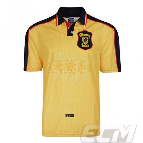 【予約SCD01】【国内未発売】ScoreDraw スコトランド代表 1998 アウェイ 復刻モデル【Scotland/サッカー/ワールドカップ/ユニフォーム】