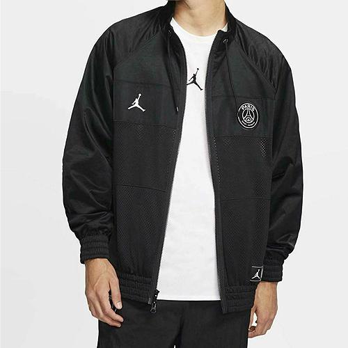 オススメ JOR19 賜物 海外買付 ブラックParis Saint-Germain x JORDAN パリサンジェルマン ジョーダン PSG ブラック スーツジャケット 祝日 サッカー