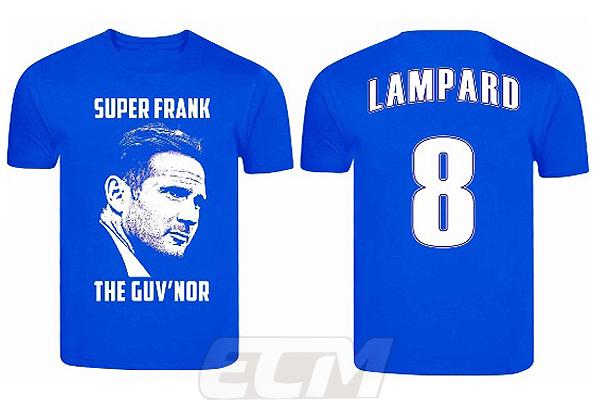quality design 8888d e4c77 Chelsea Frank Lampard legend T-shirt blue 330 cat possibility for POS