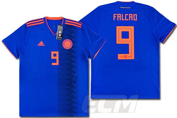 予約ECM32 国内未発売 SALE コロンビア代表 付与 アウェイ 半袖 9番 ユニフォーム ワールドカップ 安値 Colombia Falcao ファルカオ サッカー