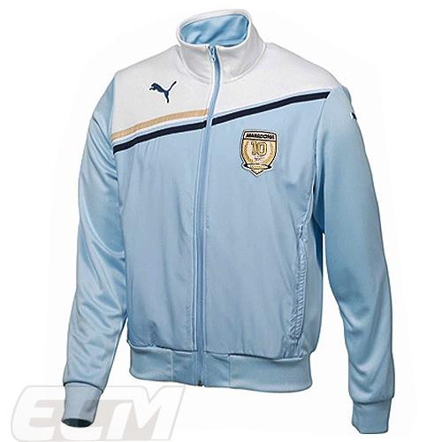 【国内未発売】ECM32ディエゴ・マラドーナ オフィシャル レジェンド ジップジャケット【サッカー/ナポリ/ボカジュニアーズ/アルゼンチン代表/Maradona】330