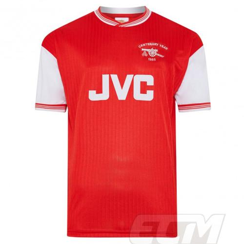 【予約SCD01】【国内未発売】ScoreDraw アーセナル 1985 100周年記念 ホーム モデル【Arsenal/サッカー/プレミアリーグ/ユニフォーム】