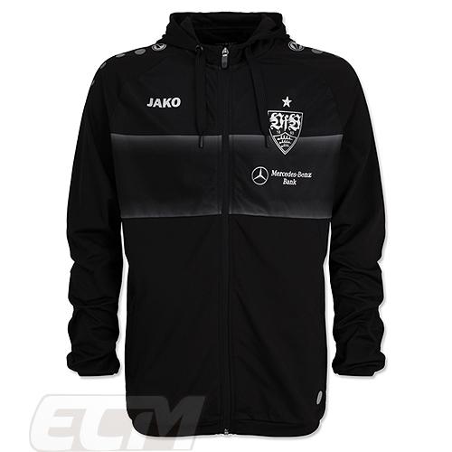 【国内未発売】VFB19VfBシュトゥットガルト トレーニングジャケット ブラック【サッカー/ブンデスリーガ/19-20/JAKO/Stuttgart】