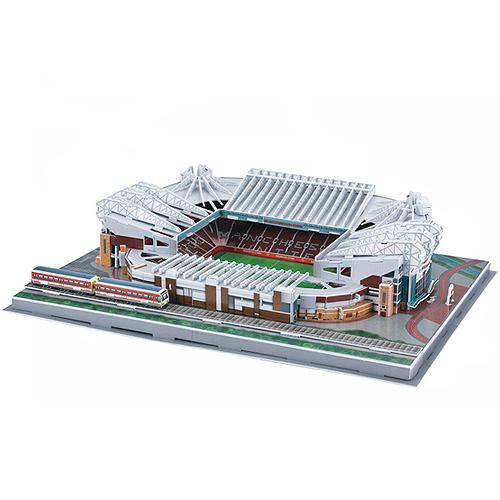 NAO01 マンチェスターユナイテッド オールドトラッフォード スタジアム 3Dパズル Manchester United Trafford Old 人気ブランド お取り寄せ品 プレミアリーグ サッカー サービス