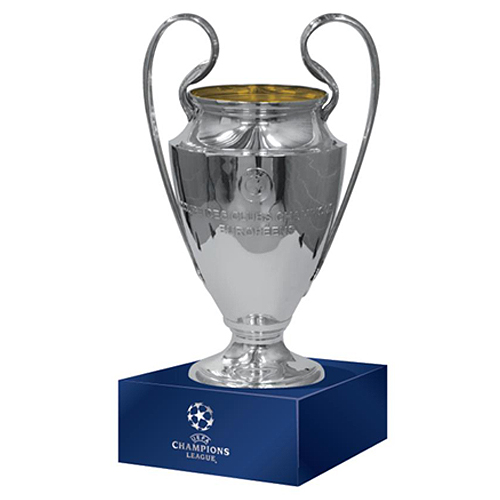 Champions League replica trophy pedestal with 150 mm