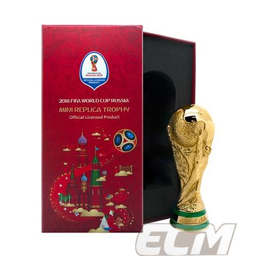 【国内未発売】ロシアワールドカップ FIFA公式 レプリカトロフィー(15cm)【2018/ワールドカップ/サッカー/World Cup/W杯】【WCR01】WAM18
