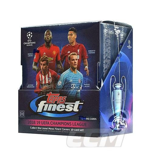 【オススメ】WUS01Topps 18-19 Finest Champions League サッカーカード【サッカー/トレカ/高級メモラビリアカード/チャンピオンズリーグ】
