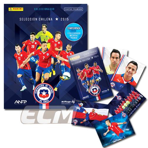 【予約CHI01】PANINI チリ代表2015トレーディングカードセット【CHILE/コパアメリカ/サッカー/トレカ】