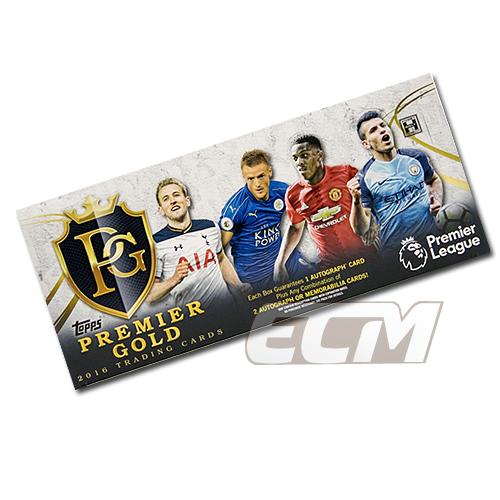 【予約WUS01】2016 TOPPS PREMIER LEAGUE GOLD SOCCER プレミアゴールド サッカーカード【サッカー/トレカ/高級メモラビリアカード】