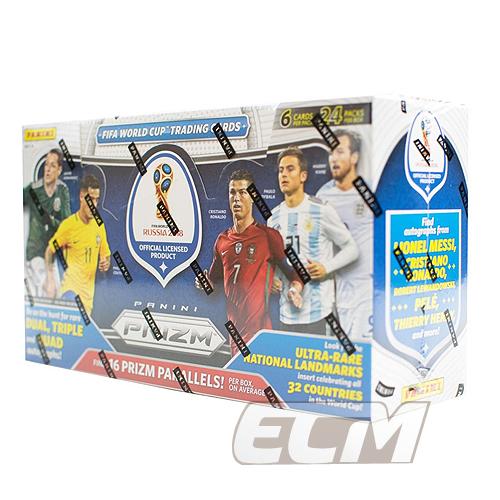 【予約WUS01】【SALE】PANINI Prizm World Cup 2018 Retail Jumbo サッカーカード【サッカー/トレカ/高級メモラビリアカード/ロシアワールドカップ】