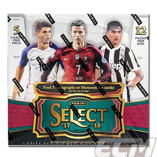 【予約WUS01】2017-2018 PANINI SELECT SOCCER セレクトサッカーカード【サッカー/トレカ/高級メモラビリアカード】