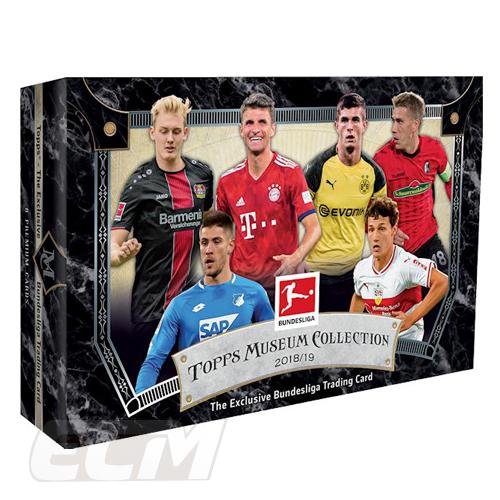 【予約WUS01】Topps 18-19 Museum Collection Bundesliga Soccer ブンデスリーガ クローム【サッカー/バイエルン/シャルケ/ドルトムト/トレーニングカード/トレカ】