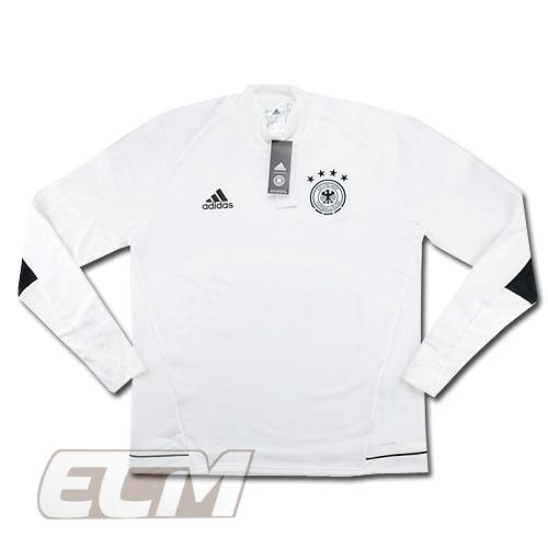 【予約DFB03】【国内未発売】ドイツ代表 トレーニングトップ ホワイト【17-18/サッカー/Germany/トレーニングウェア】ECM32