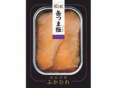 【送料無料】K&K 国分 缶詰 缶つま極 気仙沼産ふかひれ 100g (12缶入×1ケース)【卒業祝い 合格祝い 入学祝い 内祝】