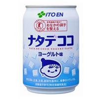 【2ケースセット送料無料】伊藤園 ナタデココ ヨーグルト味 280g缶(24本入×2ケース)【特保】