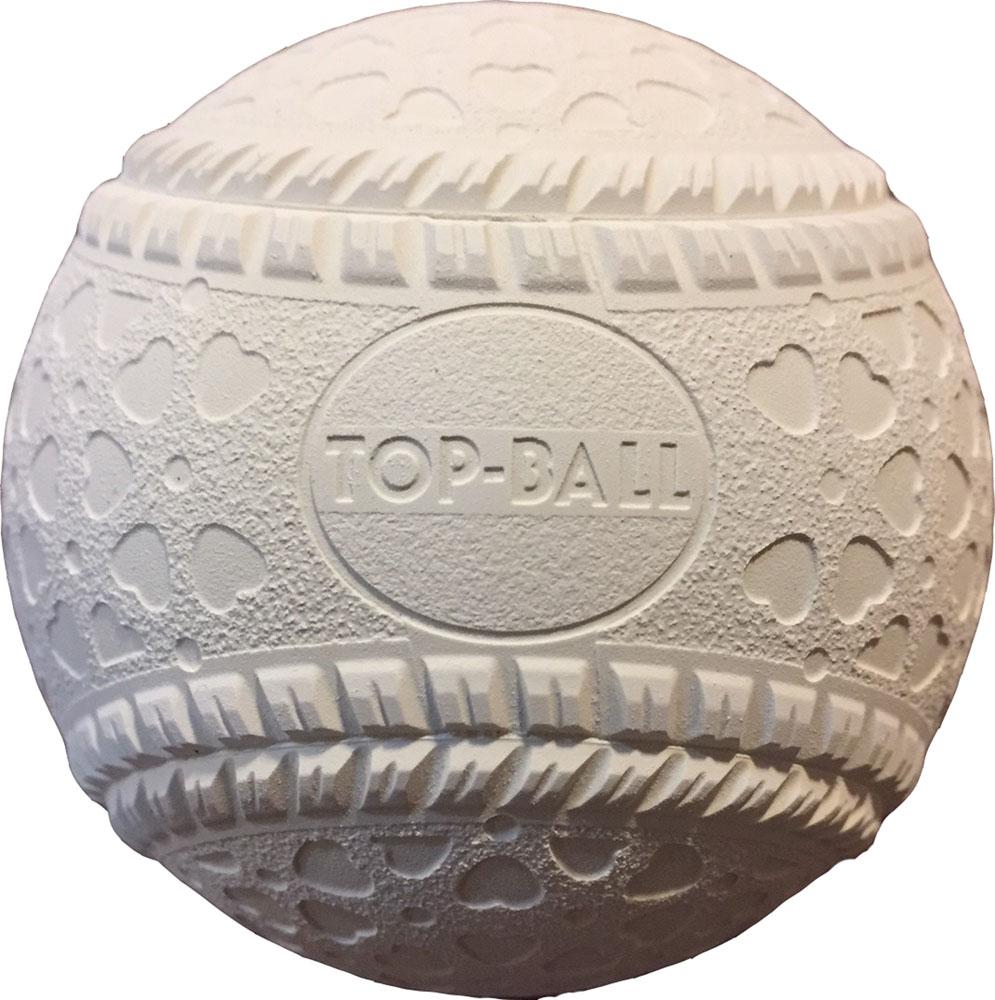 トップボール 軟式公認球 軟式M号 一般用 中学生用 トップインターナショナル 16JBR11300 KBH-TOPM 野球 軟式ボール 1ダース