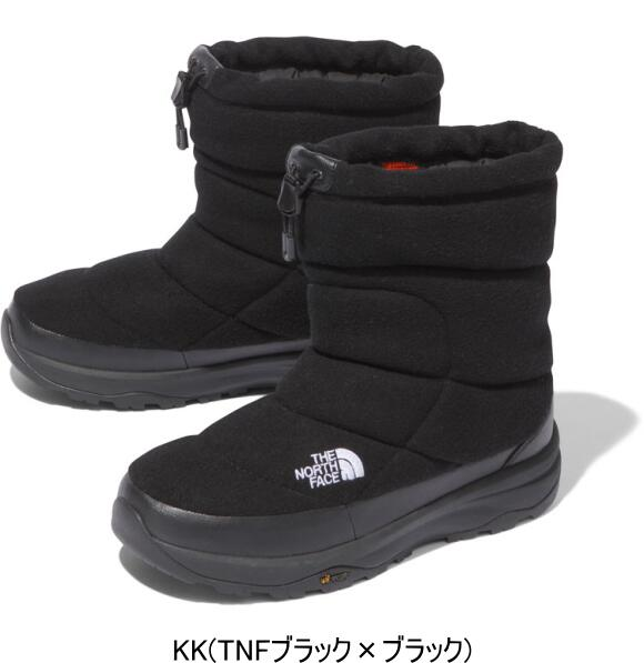 THE NORTH FACE ノースフェイス ヌプシブーティーウールV Nuptse Bootie Wool V NF51978 K(TNFブラック)
