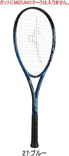 MIZUNO ミズノ ソフトテニス(軟式)ラケット TECHNIX200 テクニックス200 63JTN97527 張り上がりラケット 初心者用 新入生用