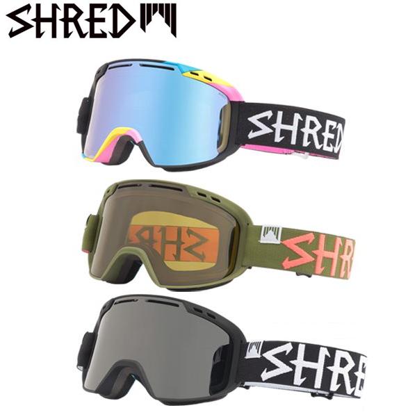 送料無料 スノーボード ゴーグル SHRED シュレッド AMAZIFY 17-18モデル FF A8