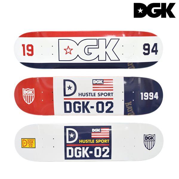 送料無料 スケートボード デッキ DGK ディージーケー MURASAKI MARCH EE D8