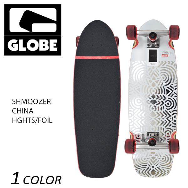 送料無料 クルージングボード GLOBE グローブ SHMOOZER CHINA HGHTS/FOIL 8.75インチ GG E3