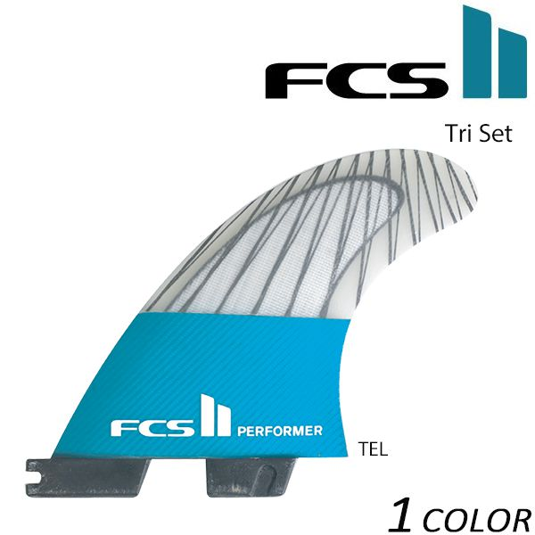 送料無料 フィン FCS エフシーエス FCS II Performer PC Carbon Tri Set GG C29