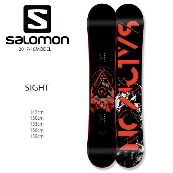 スノーボード 板 SALOMON サロモン SIGHT サイト 17-18モデル メンズ EE G28