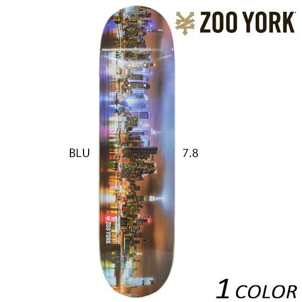 送料無料 スケートボード デッキ ZOO YORK ズーヨーク CITY TRIP シティー トリップ EE G17