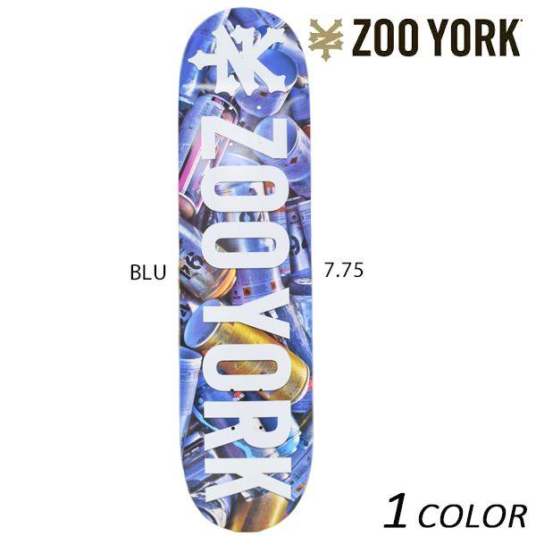 送料無料 スケートボード デッキ ZOO YORK ズーヨーク PHOTN CANS EE G17