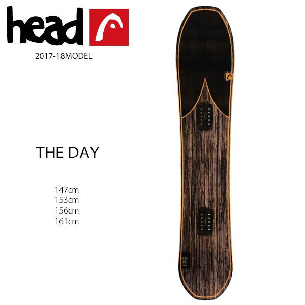 スノーボード 板 HEAD ヘッド THE DAY ザ デイ 17-18モデル メンズ EE G31