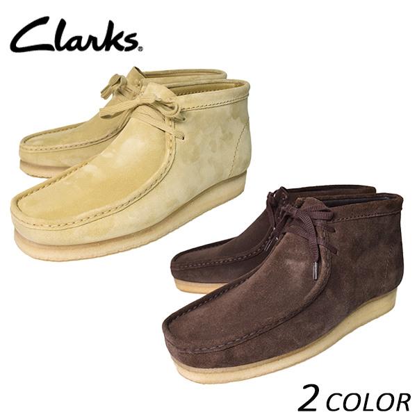 送料無料 メンズ ブーツ CLARKS クラークス Wallabee Boot ワラビーブーツ EE I21