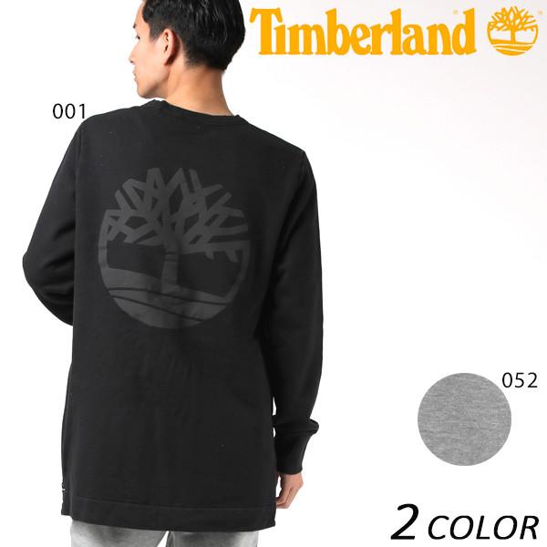 SALE セール 20%OFF メンズ トレーナー Timberland ティンバーランド Crew Tree Logo Sweat BLAC TB0A1LAT EE3 I15