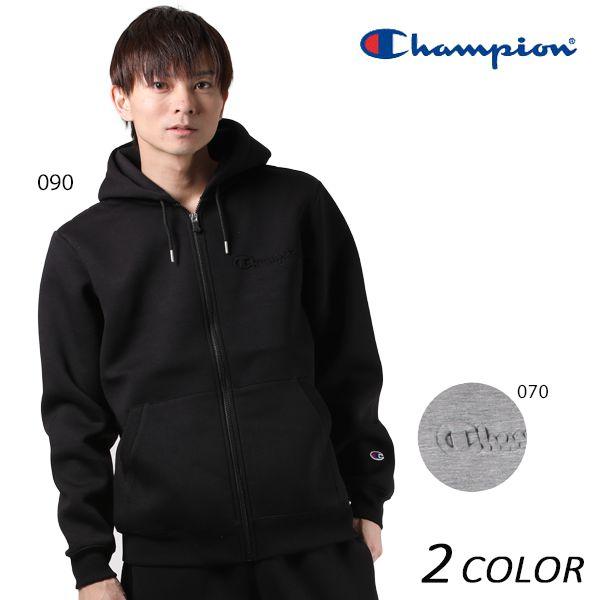送料無料 メンズ ジップアップ パーカー Champion チャンピオン C8-LS102 EE3 I11