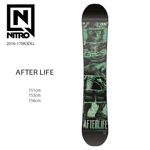送料無料 SALE セール 50%OFF スノーボード 板 NITRO ナイトロ AFTERLIFE アフターライフ 16-17モデル メンズ E1 J7